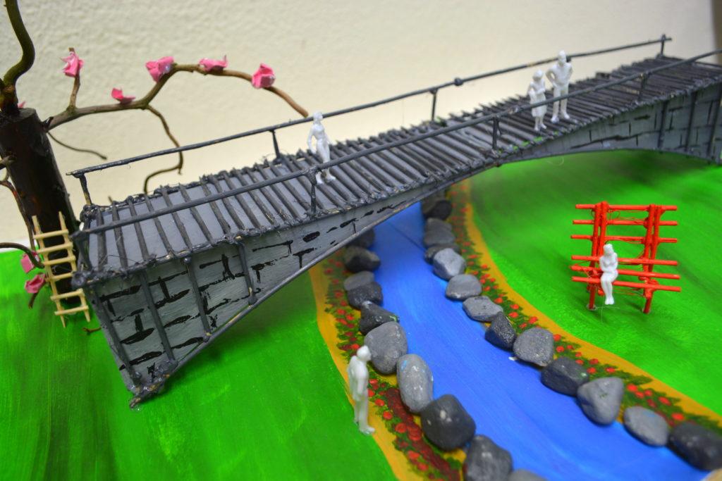 A. Charlotte 2. Japanische Brücke