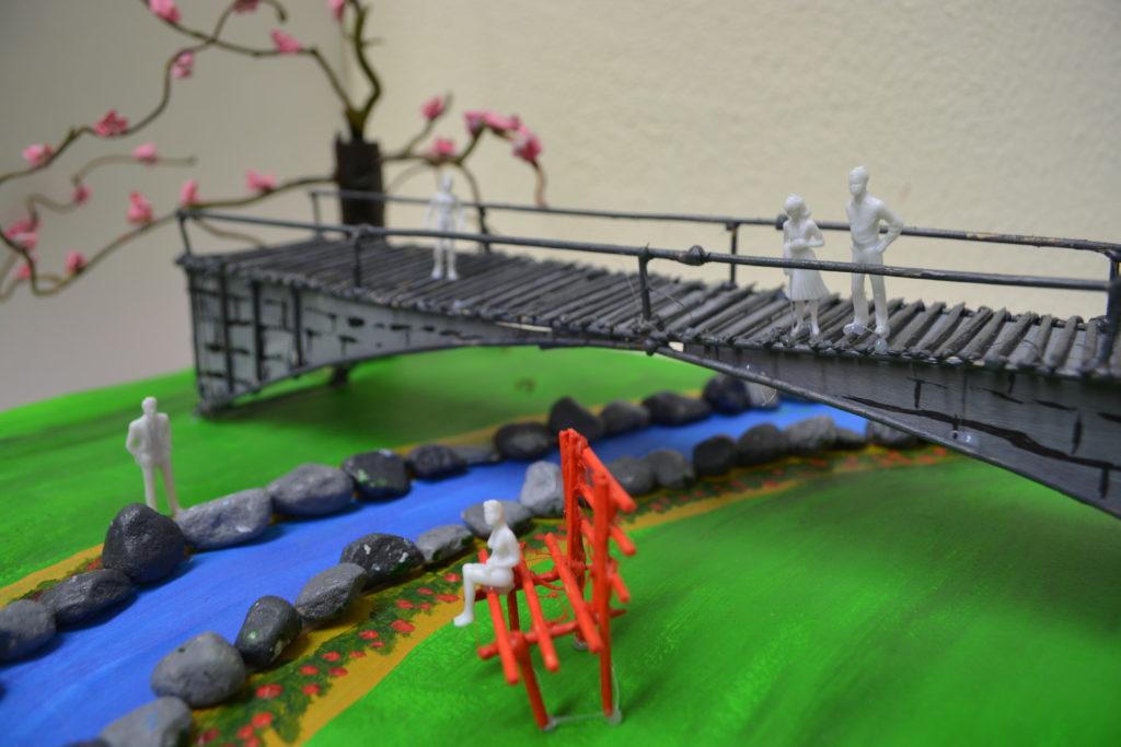 A. Charlotte 3. Japanische Brücke